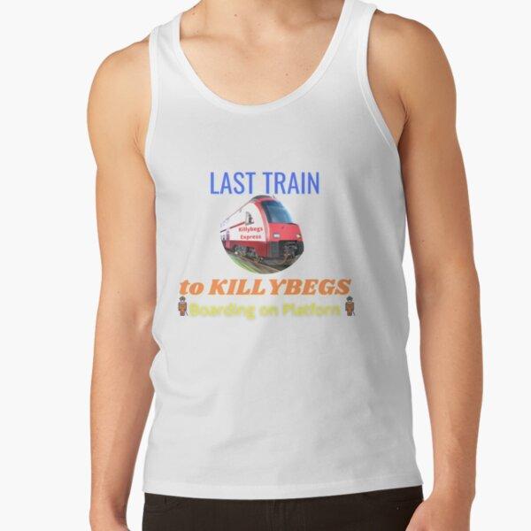 LAST TRAIN TO KILLYBEGS Boarding on Platforn Tank Top