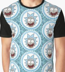 Keep It Classy Happy Rick Sanchez  Graphic T-Shirt