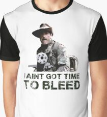 Predator I Aint Got Time To Bleed Graphic T-Shirt