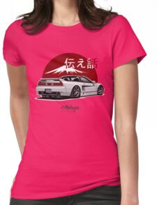 Acura / Honda NSX (white) Womens Fitted T-Shirt