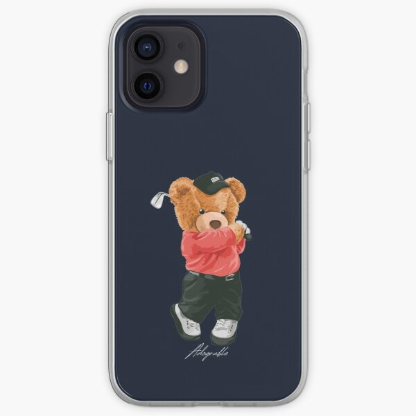 Cute Bear Glofing - Adograble iPhone Soft Case