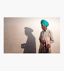 The Shadow of a Man Photographic Print