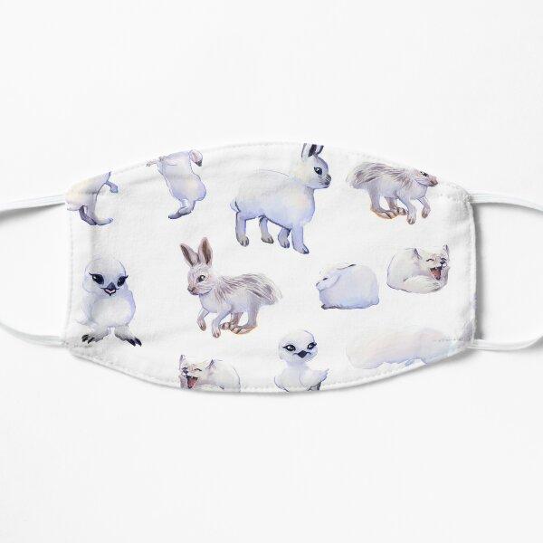 Snow white animal sticker bundle plus Flat Mask