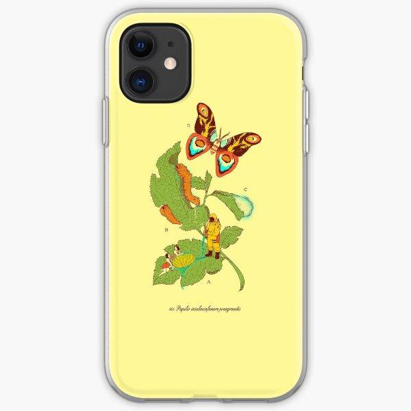 Papilio Insulaeinfanum praegrandis (モスラ) iPhone Soft Case