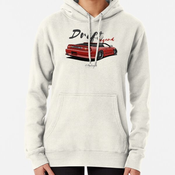 Silvia S13, 200SX, 240SX (red) Pullover Hoodie