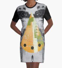 Splash of Color Graphic T-Shirt Dress