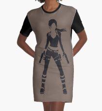 Lara Graphic T-Shirt Dress