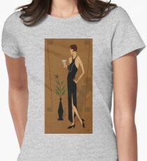 Gatsby Girl Womens Fitted T-Shirt