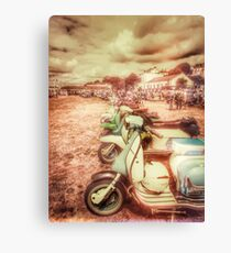 Exmouth Scooter Rally 2016 Canvas Print