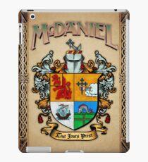 McDaniel coat of arms iPad Case/Skin