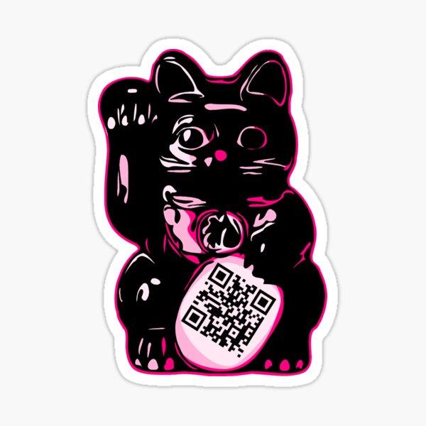 QRcat 01 Sticker