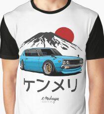 Nissan Skyline GTR Kenmeri (blue) Graphic T-Shirt