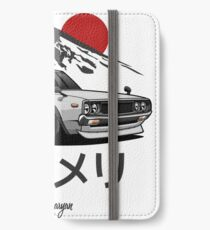 Skyline GTR Kenmeri (white) iPhone Wallet/Case/Skin