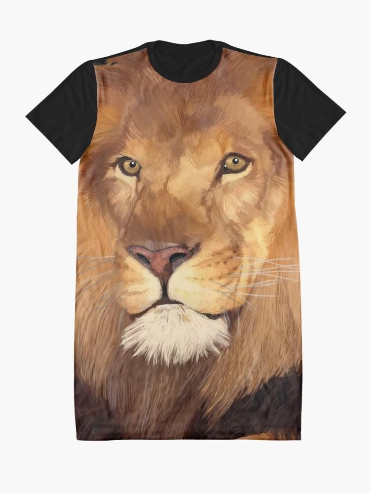 Vista alternativa de Vestido camiseta León