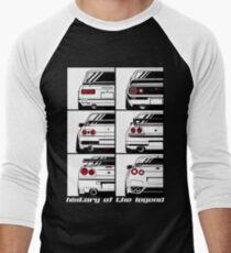 Horizont. Geschichte Baseballshirt für Männer