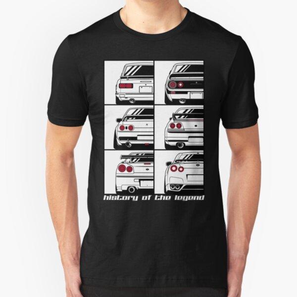 Horizonte. Historia Camiseta ajustada