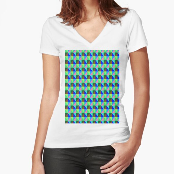 iLLusion Fitted V-Neck T-Shirt
