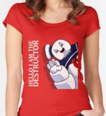 Hello I Am the Destructor Women's Fitted Scoop T-Shirt