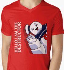 Hello I Am the Destructor Mens V-Neck T-Shirt