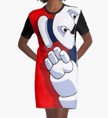 Hello I Am the Destructor Graphic T-Shirt Dress