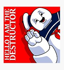 Hello I Am the Destructor Photographic Print