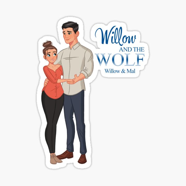 Willow and the Wolf Sticker