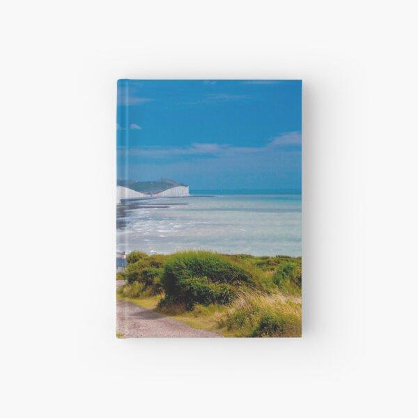White cliffs of Dover Hardcover Journal