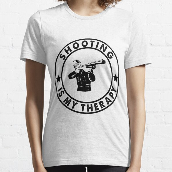 shooting is my therapy ,fathers day gift,shooting lovers gifts,shooting hobby Essential T-Shirt