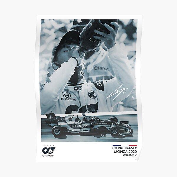 Pierre Gasly Monza Affiche Poster