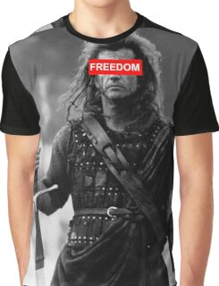 BRAVEHEART - freedom obey Graphic T-Shirt