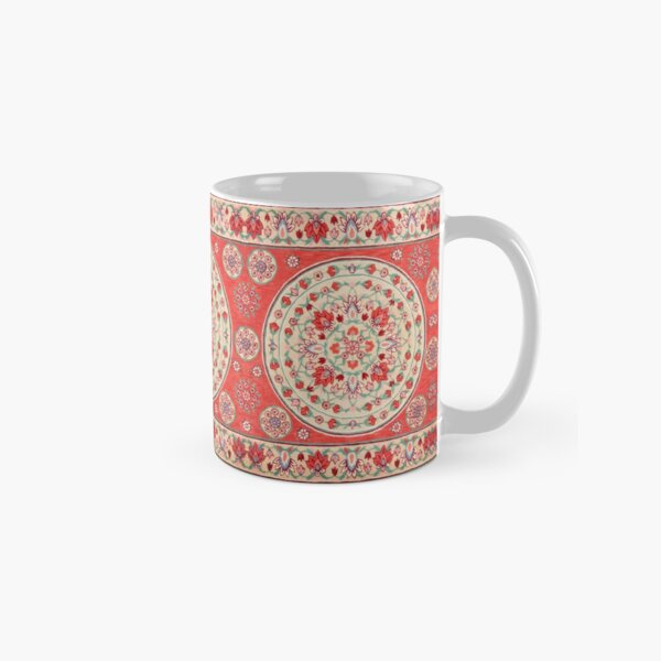 Boho Oriental Traditional Floral Moroccan Style Classic Mug
