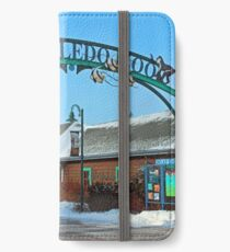 Toledo Zoo Welcome iPhone Wallet/Case/Skin