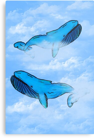 Sky Whales by Charis Woodrow