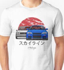 Skyline (R34 & Hakosuka) Unisex T-Shirt