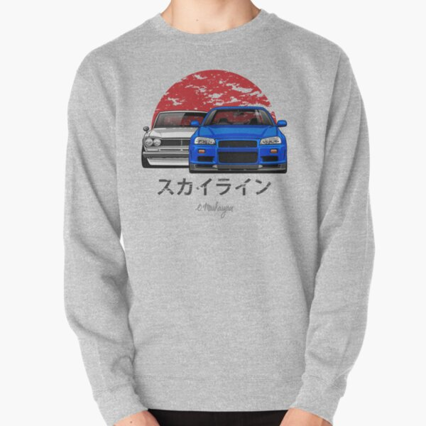Skyline (R34 et Hakosuka) Sweatshirt épais