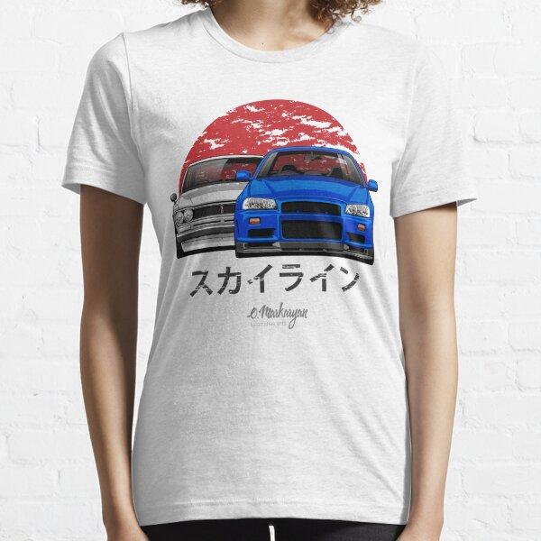 Skyline (R34 & Hakosuka) Essential T-Shirt