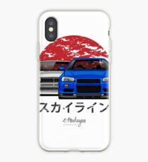 Skyline (R34 & Hakosuka) iPhone Case