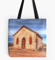 Worship In The Past Tote Bag