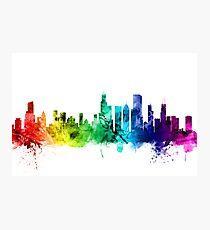 Chicago Illinois Skyline Photographic Print