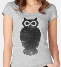 owlfinity Women's Fitted Scoop T-Shirt