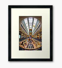 Bubble Burst - The Queen Victoria Building - Sydney - Australia Framed Print