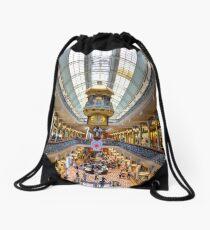 Bubble Burst - The Queen Victoria Building - Sydney - Australia Drawstring Bag