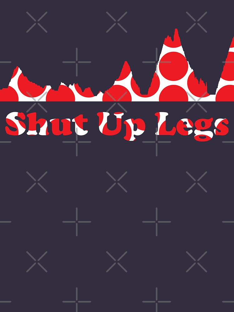 Shut Up Legs Red Polka Dot Mountain Profile by sher00