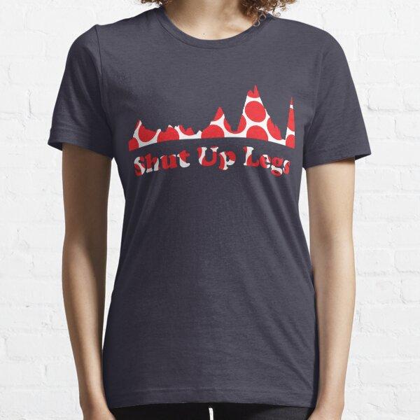 Shut Up Legs Red Polka Dot Mountain Profile Essential T-Shirt