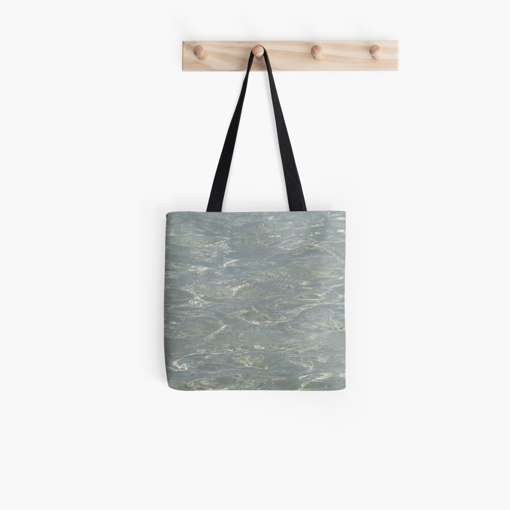 Gleaming ripples Tote Bag