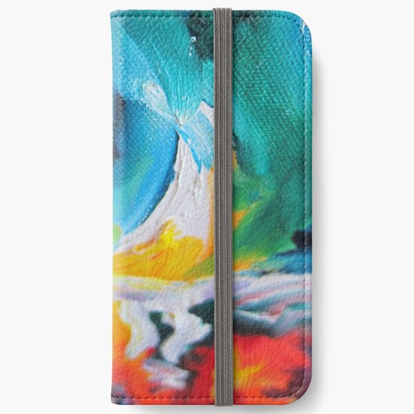 Oasis on Fire iPhone Wallet