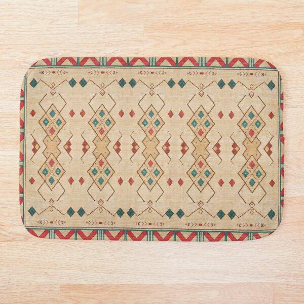 Oriental Bohemian Traditional Moroccan Style Bath Mat