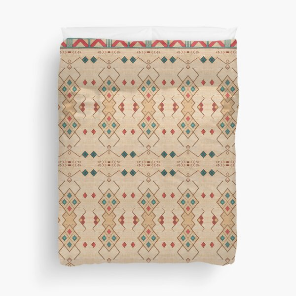 Oriental Bohemian Traditional Moroccan Style Duvet Cover