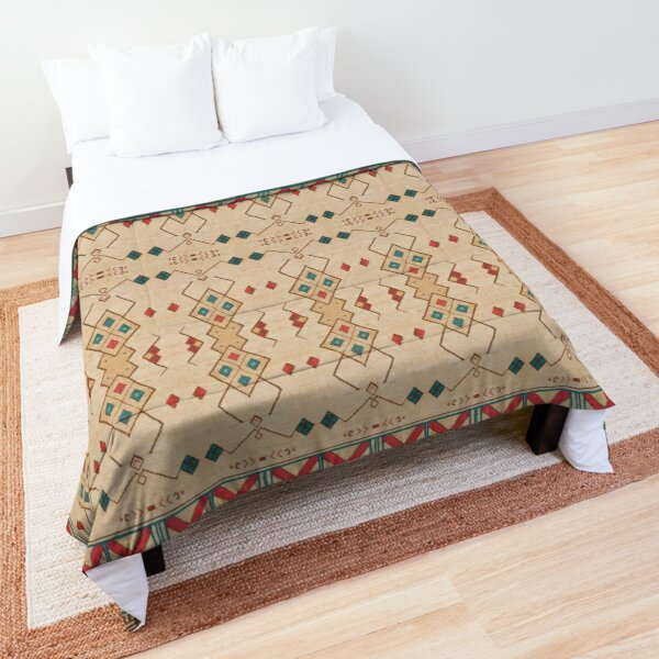 Oriental Bohemian Traditional Moroccan Style Comforter