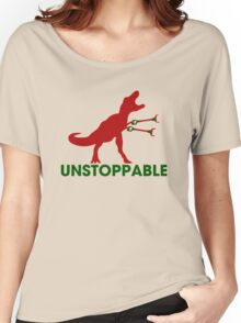 Unstoppable T-rex Women's Relaxed Fit T-Shirt